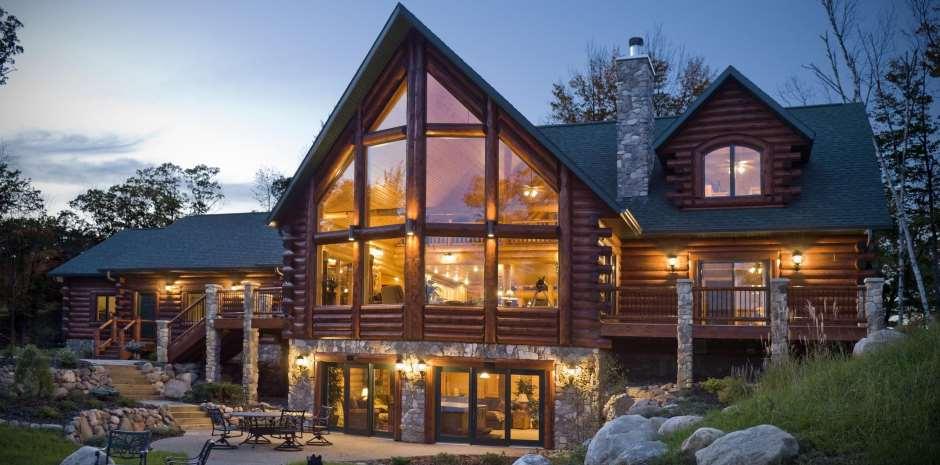 belle maison en bois maison en bois maison bois - Maison En Bois Autoconstruction