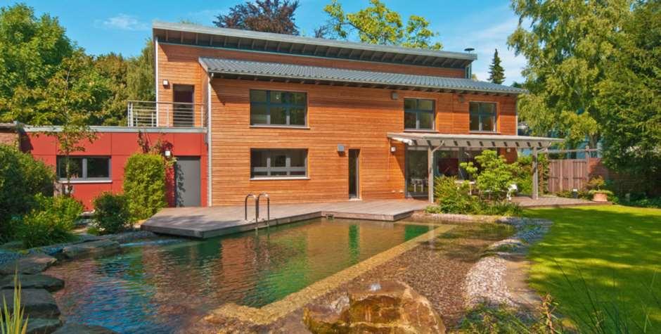 Maison ossature bois tout savoir sur cette construction - Casas de madera balcan house ...