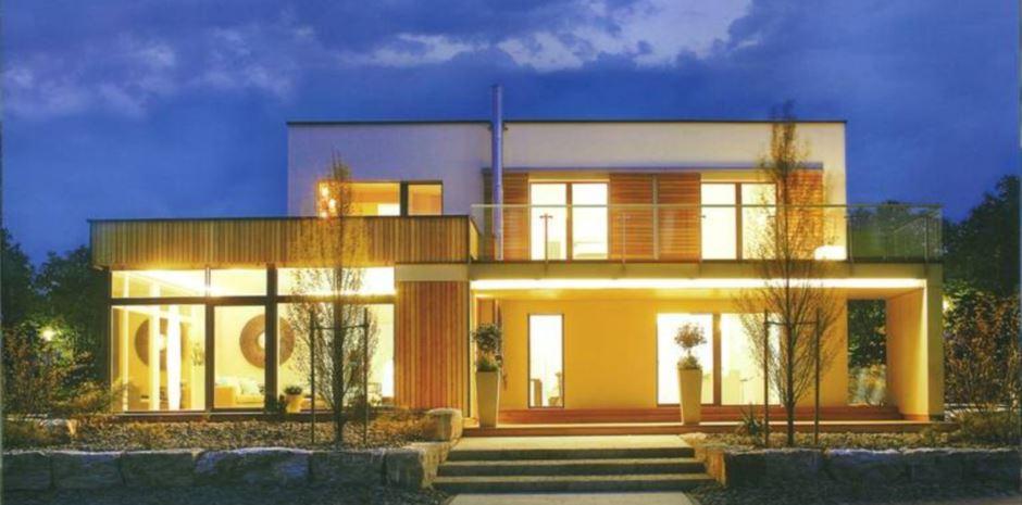 Maison Panneau Bois - Maison en panneaux bois massif ou panneaux contrecollés